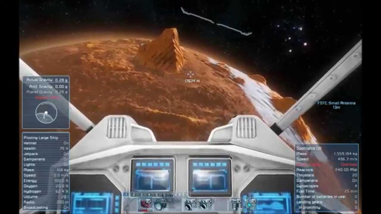 Space Engineers S1 E30 Mars Base - YouTube