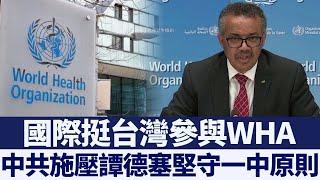 國際挺台參與WHA 中共密信施壓譚德塞|新唐人亞太電視|20200518