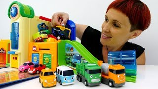 Машинки и Маша КАПУКИ КАНУКИ учат #английский для детей. Мультик 4 машинки и Английский магазин