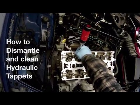 How to Dismantle and Clean Hydraulic Tappets / Lifters