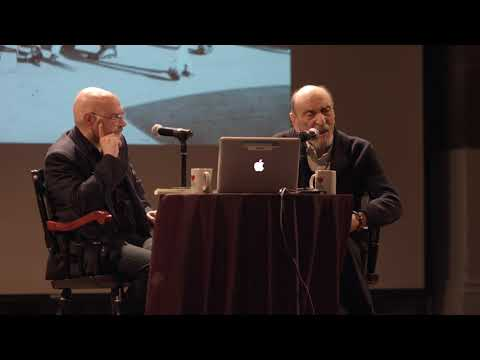 Milton Glaser in conversation with Steven Heller at the Great Hall