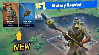 SKY STALKER GAMEPLAY IN FORTNITE BATTLE ROYALE! UNE PEAU TOUTE NEUVE !