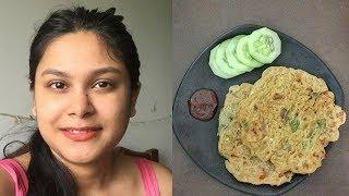Vlogs : Breakfast Recipe Oats Chilla Healthy Diet food