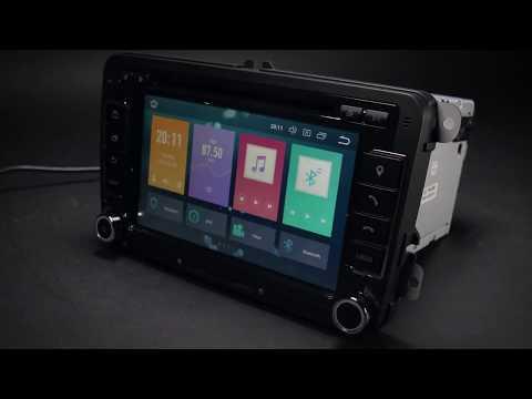 Xtrons.pt - Volkswagen Skoda SEAT Android Oreo 8 0 Car Stereo PB78MTVP
