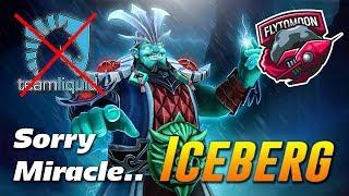 Iceberg destroys Team Liquid [sorry Miracle] Storm Spirit Dota 2