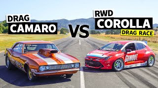 850hp Big Block V8 Camaro vs. 900+hp Pro Drift Corolla // This vs. That