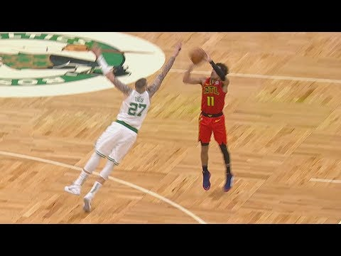 Theis Blocks Trae Young's Game Winner Attempt! 2019-20 NBA Season