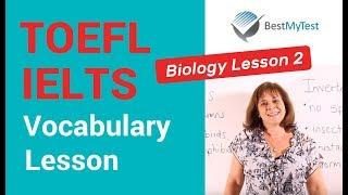 TOEFL Vocabulary - Biology Lesson 2