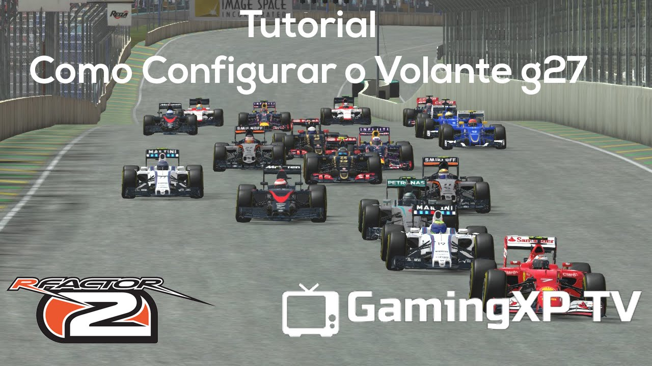 Vídeo dos Inscritos - Tutorial Como Configurar o Force Feedback (g27)  rFactor 2 - Portugues [PT BR] by GamingXP TV