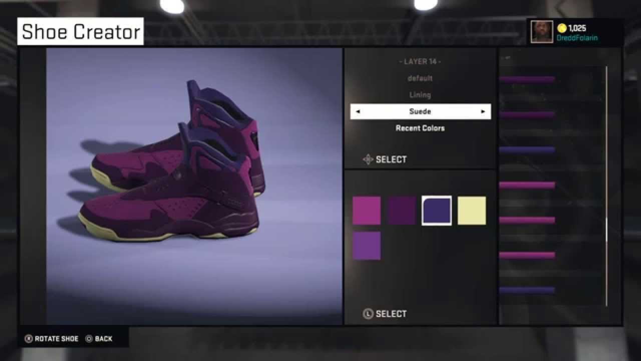 3989927c3431 Converse Space Invaders Aero Mid for NBA 2K15 - YouTube