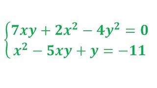 Решение системы двух нелинейных уравнений