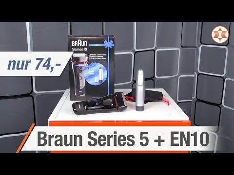 BRAUN Series 5 5030s + EN 10 Für Nur 74 Euro - Die TOP FEATURES │ Angebot Der Woche