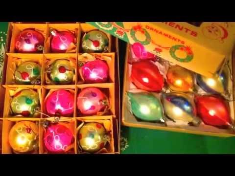 Vintage Retro Christmas Ornaments - YouTube