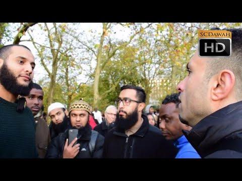 Hadith Denial!? Muhammed Hijab Vs Hadith Rejector | Speakers Corner | Hyde Park
