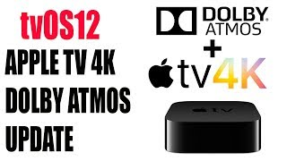 APPLE TV 4K DOLBY ATMOS tvOS12 Public Beta Review | Settings + How To