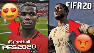 FIFA 20 CAREER MODE v PES 2020 MASTER LEAGUE | WHICH IS BETTER?
