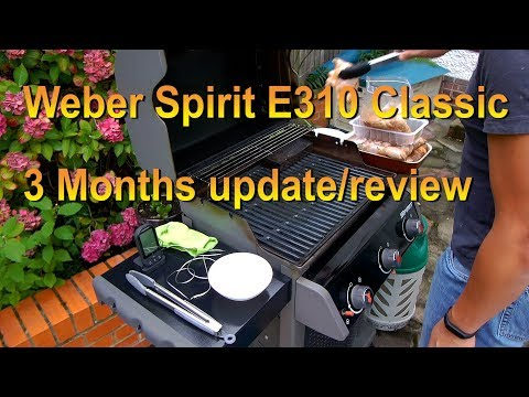 Weber Spirit E310 Classic 3 months use and review