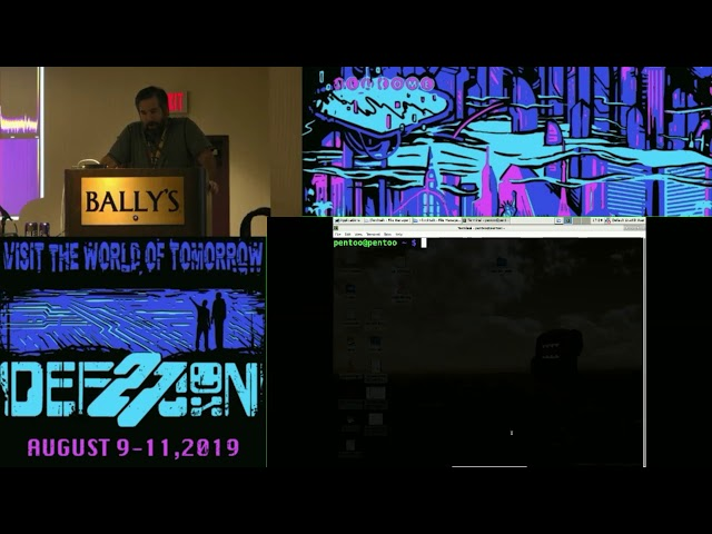DEF CON 27 Wireless Village - Woody - The Ford Hack Raptor Captor video