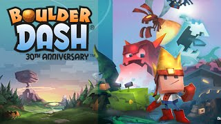 Boulder Dash®-30th Anniversary Android GamePlay Trailer (HD)