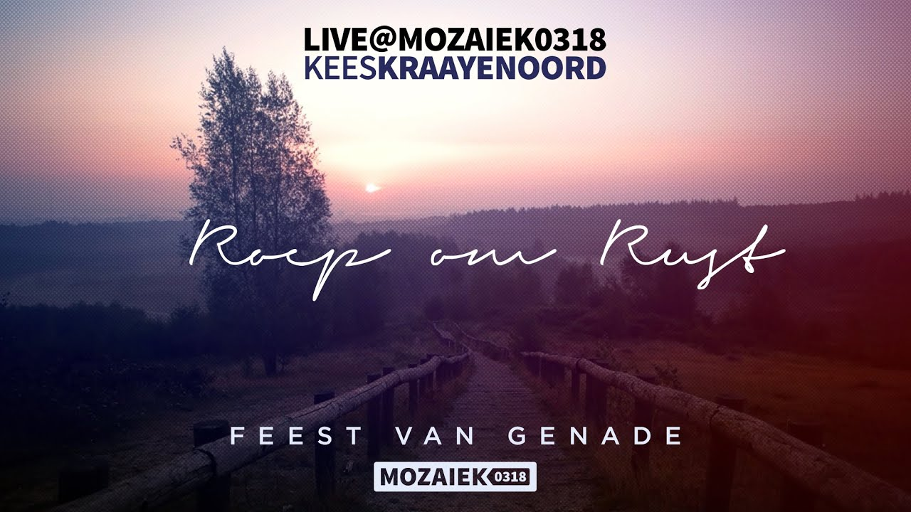 Roep Om Rust - Official Lyric Video