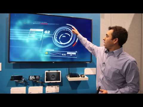 ARM Mali-450 demo with 4K Resolutions (CES 2014)