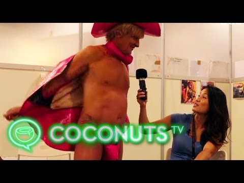 Pricasso: The Man Who Paints With His Penis | Coconuts TV Exclusive