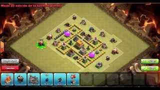 Clash of Clans Español | Base de Guerra Ayuntamiento nivel 5