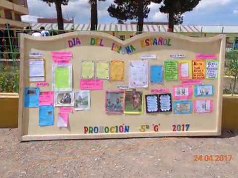 Periodicos Murales Dia Del Idioma Castellano Dia Del Libro