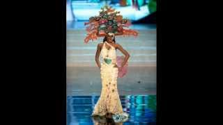 Miss Universe 2012 Top 10 National Costumes, OFFICIAL RESULTS