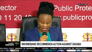 vuclip Somadoda Fikeni of Mkhwebane's findings on Gigaba