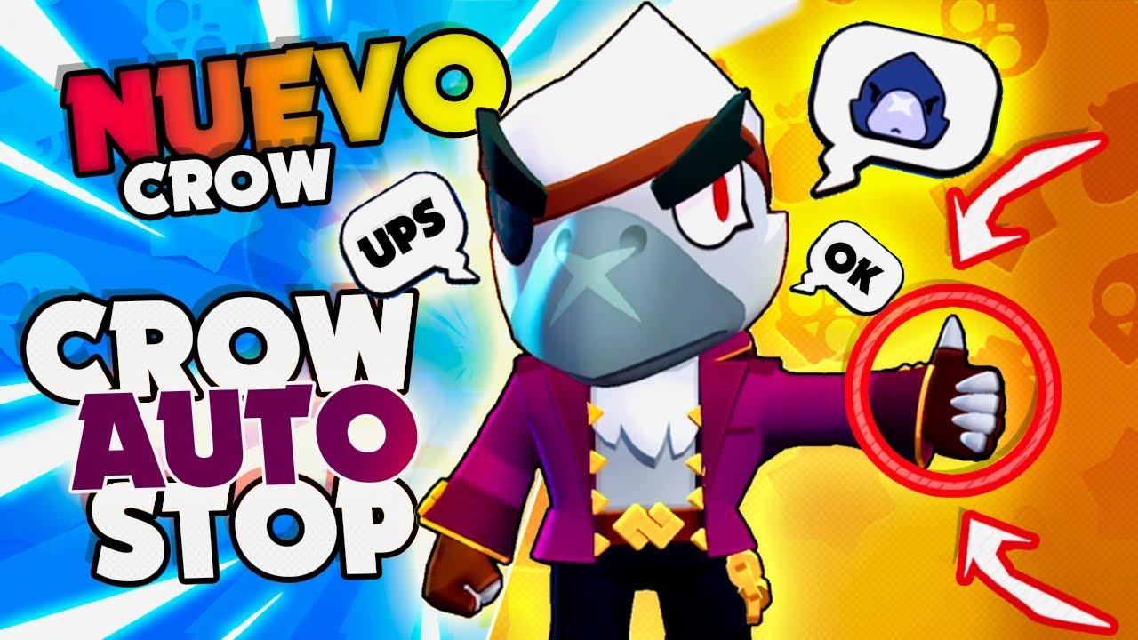¡¡ EL RE-MODELO INTERNACIONAL XD DE CROW BLANCO !! en Brawl Stars - Vi Games