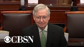 McConnell rejects demand f๐r witnesses at Senate impeachment trial