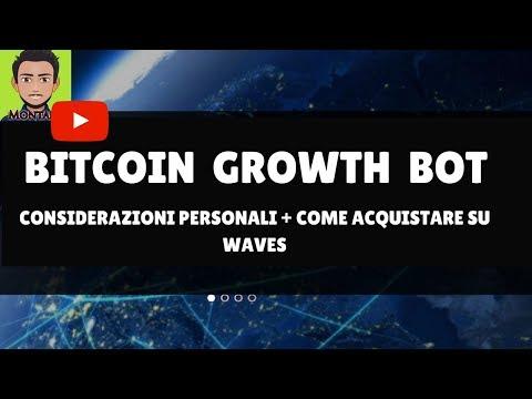 BITCOIN GROWTH BOT || 2 Giorni Alla PRE-ICO! + Come Acquistare Su Waves