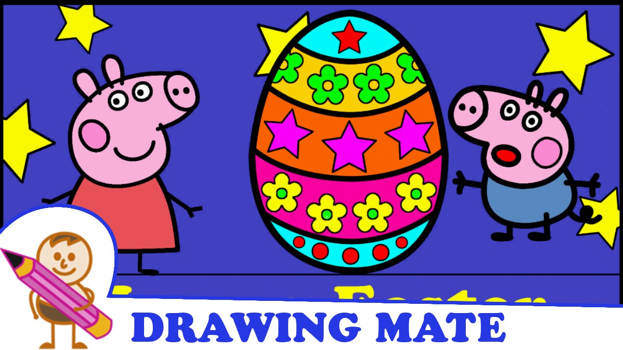 Peppa Pig Coloring Pages For Kids Świnka Peppa