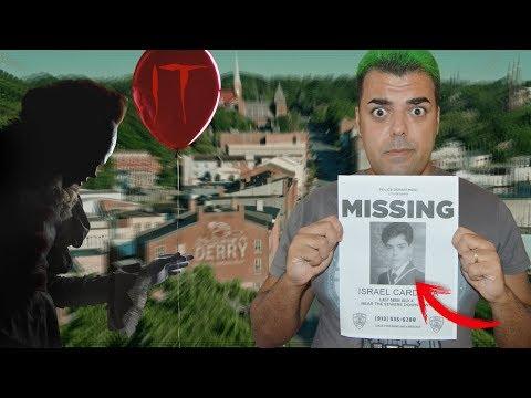 LLAMÓ a la comisaria de DERRY y me responde PENNYWISE IT | El número de los niños desaparecidos