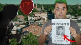 LLAMÓ a la comisaria de DERRY y me responde PENNYWISE IT   El número de los niños desaparecidos