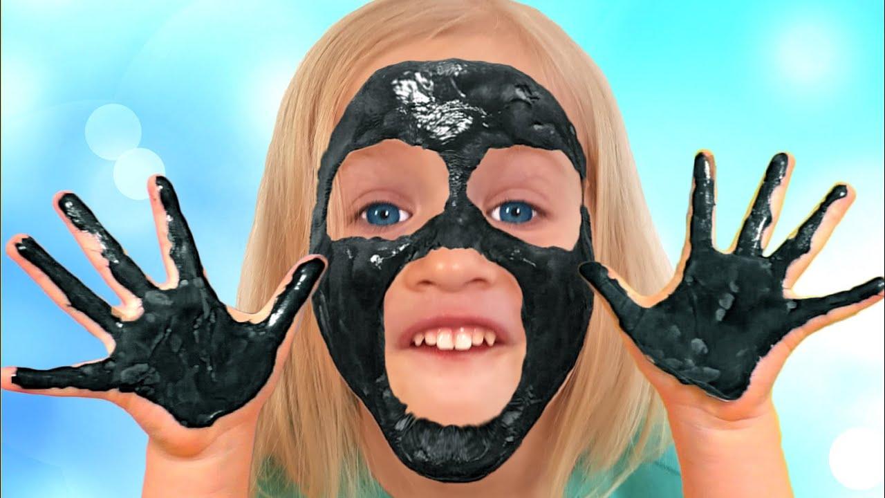 my face and my hands are black | मेरा चेहरा और मेरे हाथ काले हैं | कात्या और दायमा Kids Songs Hindi
