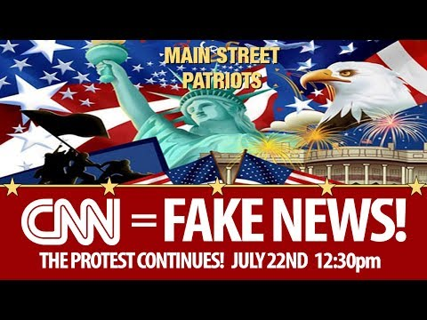 2nd March Against Fake News CNN - Defend Trump!