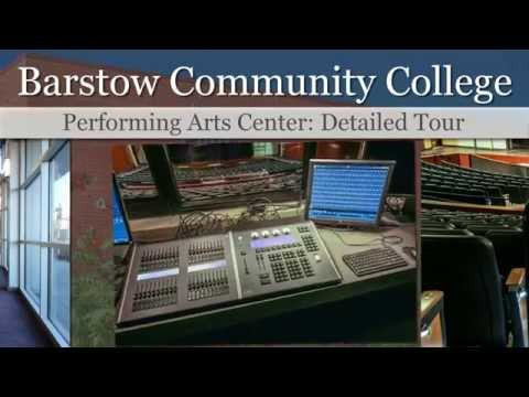Barstow Community College's Performing Arts Center, Detailed Tour