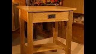 Woodworks Episode 104 Arts & Crafts Inspired Nightstand Video Preview