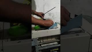 Canon irc5185 copier panel removal