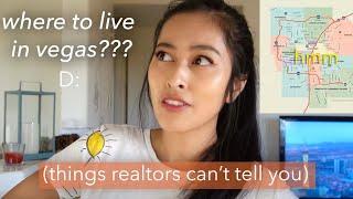 Living in Las Vegas | Best + Worst + Okay-est Neighborhoods in Las Vegas