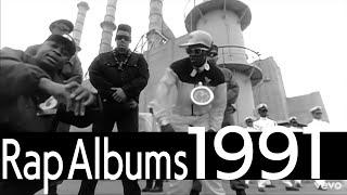 YouTube動画:Kダブシャインの4 Da Kulcha - 1991 Top 10 Hip Hop Albums