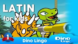 Latin for kids - Latin lessons for children - DVD set