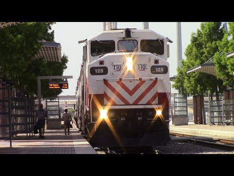 [HD] Railfaning Dallas and Hurst, TX - 7/22/17