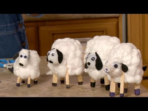 How To Make Paper Cup Lambs Sophies World Youtube