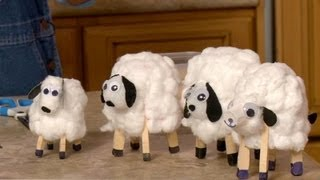 How to Make Paper Cup Lambs | Sophie