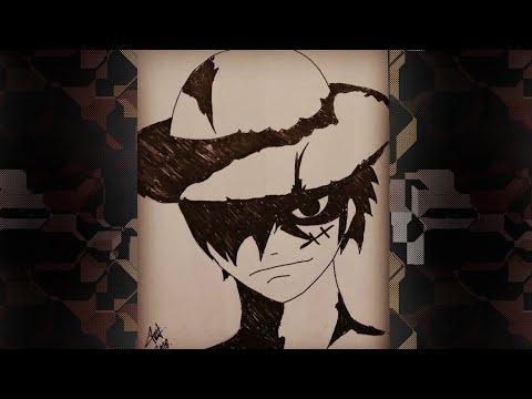 Cara Gambar Luffy One Piece Youtube