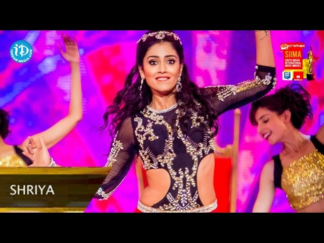 Shriya Saran Superb Dance Performance@SIIMA 2014, Malaysia