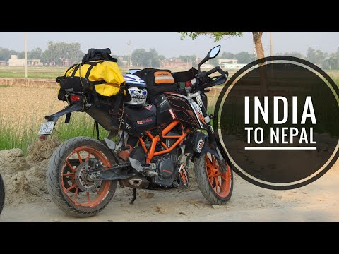 India to Nepal | lucknow to nepal | india to nepal on bike ride | nepal border